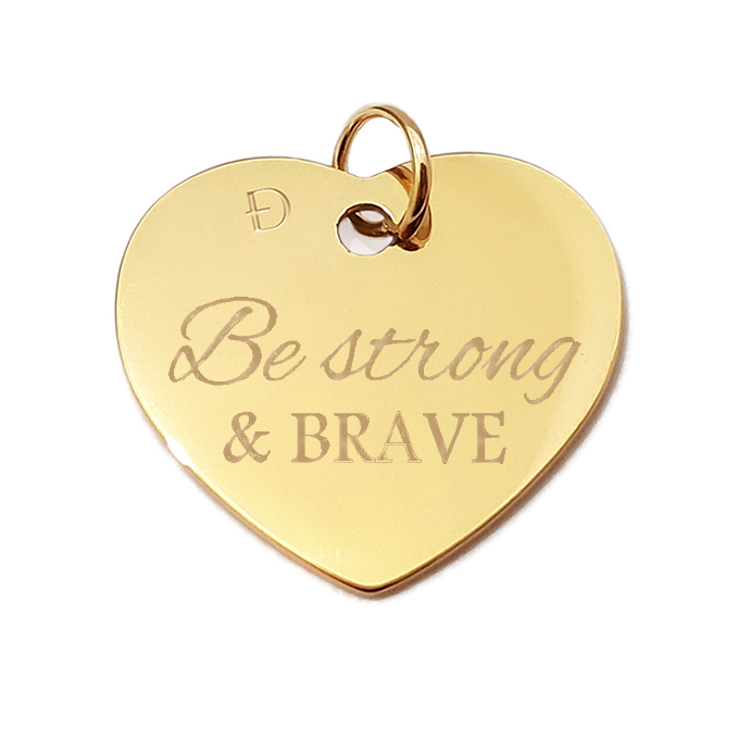 Serce 02. Be strong and brave